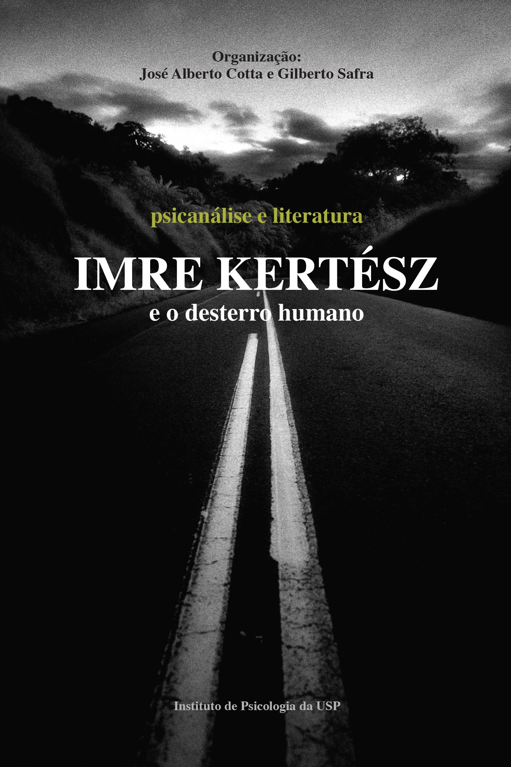 capa Imre Kertész e o desterro humano