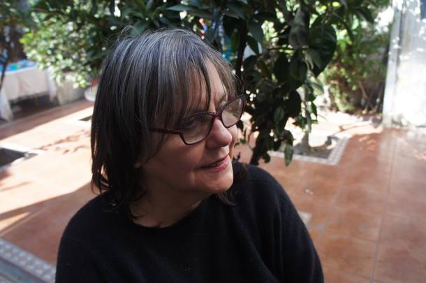 ARQUIVO 06/04/2017 CADERNO2 / CADERNO 2 / C2 / USO EDITORIAL RESTRITO / A escritora chilena Diamela Eltit. CRÉDITO: Dánisa Retamal Eltit