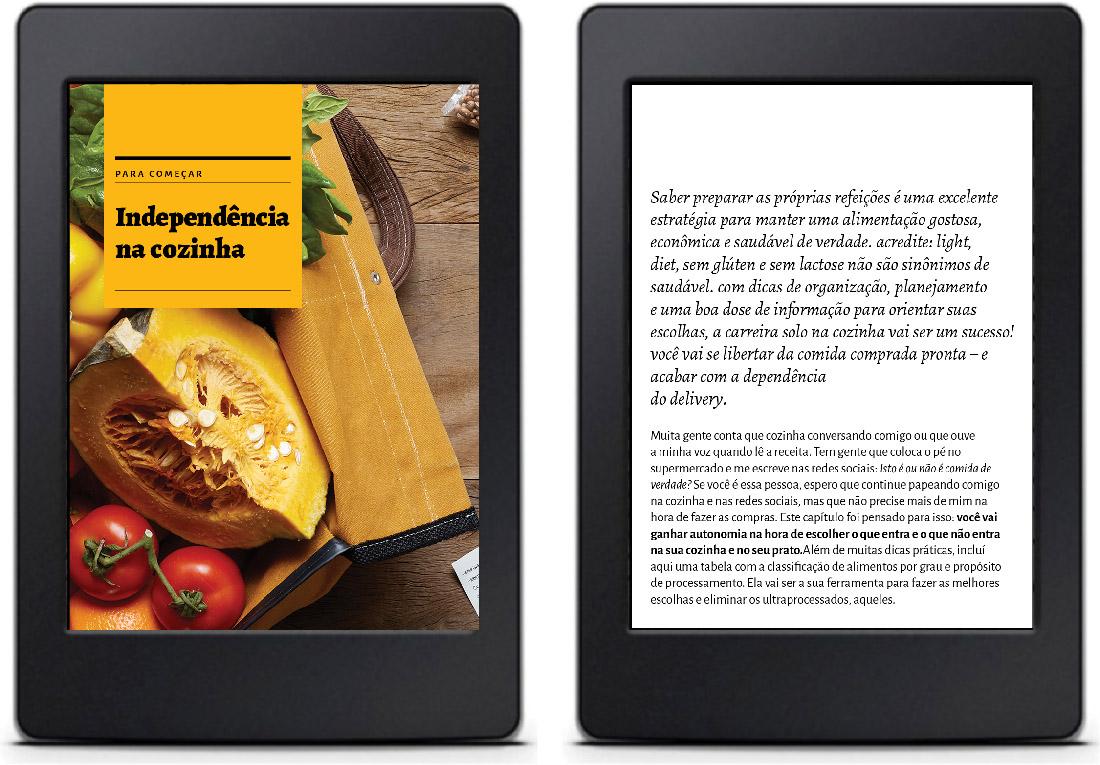 Solução para o e-book