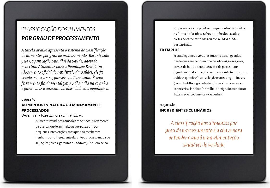 Tabela Solução no e-book