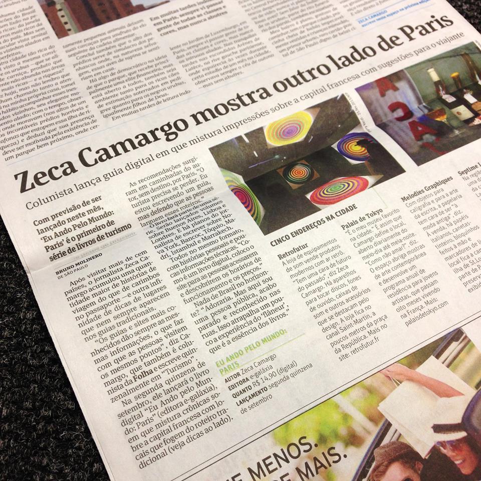 Zeca Camargo lança guia que mostra outro lado de Paris