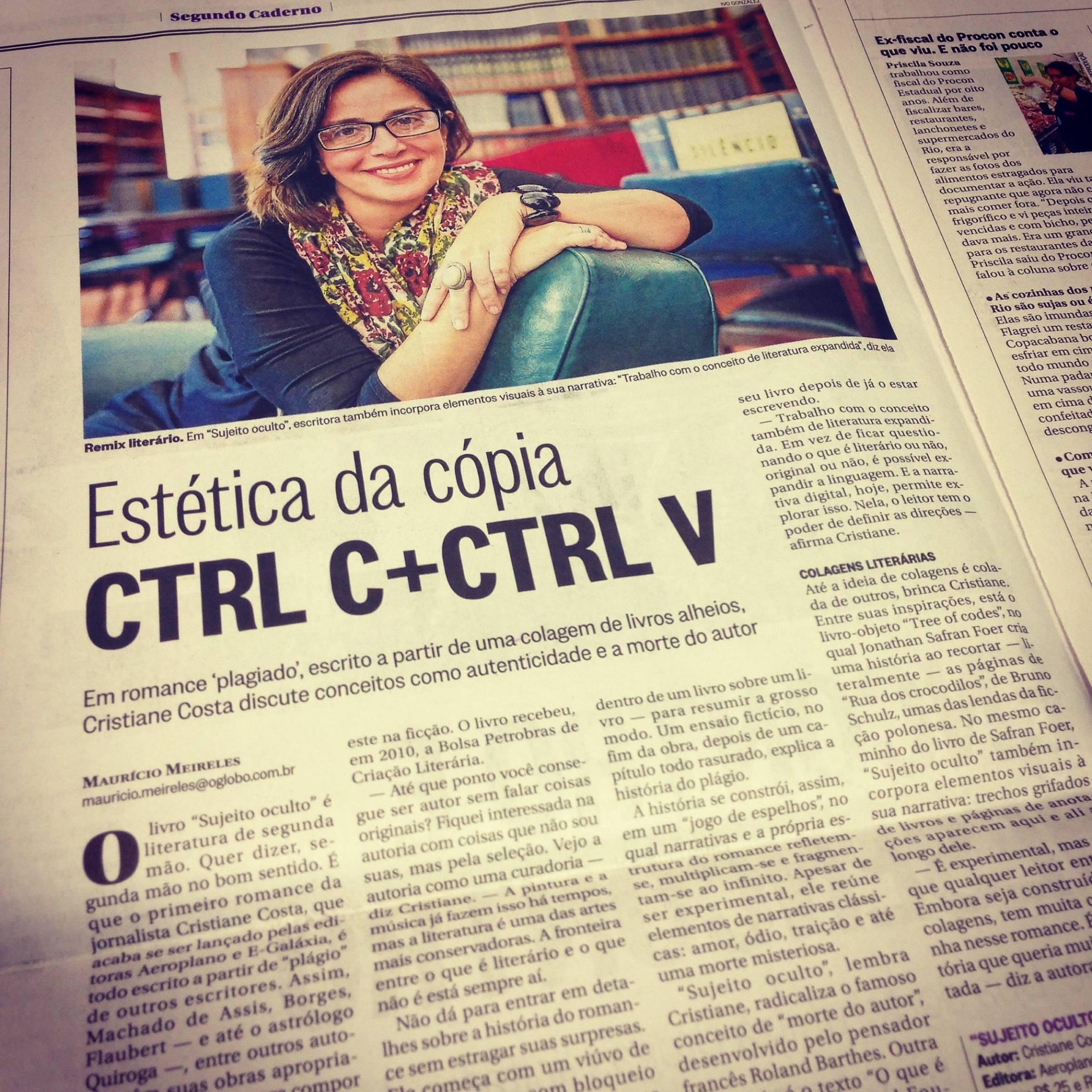 CTRL C + CTRL V